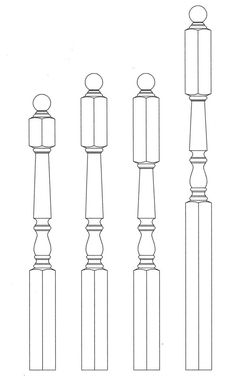 "Kinzel Wood Products Store - Brunswick Newel Posts 3-1/2"", $58.68 (http://store.kinzelwoodproducts.com/brunswick-newel-posts-1/)"