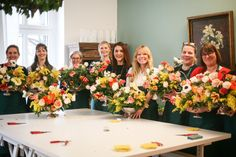 Workshop Dutch Floral Painting Bouquets in the Berlin Flower School Bridesmaid Dresses, Wedding Dresses, Bouquets, Dutch, Berlin, Workshop, School, Flowers, Design