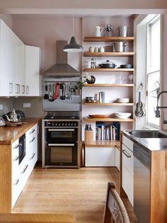 Modern kitchen cabinets for small kitchen modern kitchen design ideas . Small Kitchen Lighting, Small Kitchen Storage, Functional Kitchen, Kitchen Organization, Kitchen Small, Space Kitchen, Hidden Kitchen, Ikea Kitchen, Kitchen Knives