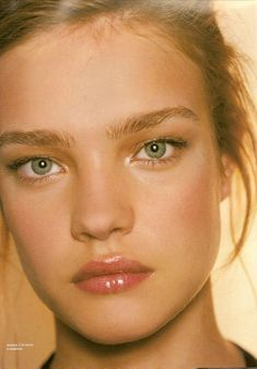 Natalia Vodianova One of my favorite models; incredibly versatile, great humanitarian, mother, etc. Stunning.