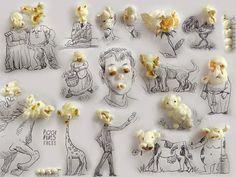 asylum-art: 3D Illustrations by Victor Nunes