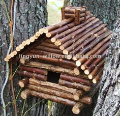 Source Willow Branch Bird House,natural color on m.alibaba.com