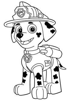 Paw Patrol Marshall, Zuma Paw Patrol, Rubble Paw Patrol, Paw Patrol Party, Paw Patrol Birthday, Rocky From Paw Patrol, Paw Patrol Coloring Pages, Truck Coloring Pages, Coloring Pages For Boys