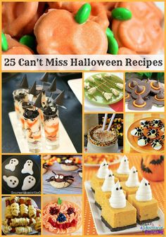 halloween recipe ideas | 25 Halloween Recipe Ideas You Can't Miss {+ Link Up}