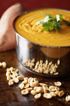 Delicious. Gourmet. Healthy. Everyone always asks for the recipe when I make this African Peanut Soup!