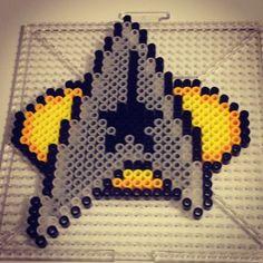 Commander Star Trek perler beads by lizbugkandi