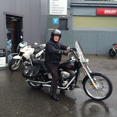A Long wet ride home ride safe. Thanks from all the team at SMC Bikes  #harleydavidson