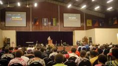 Been blessed ministering @ City Gate Tabernacle @ Lae, Papua New Guinea. The congregation is so hungry for the Lord!