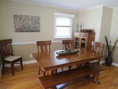 Chair Rail Dining Room