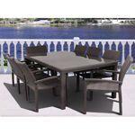 $1,499.99 - Atlantic 9-piece Dining Set in Gray