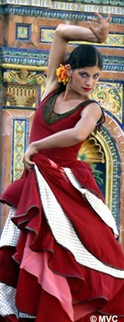 The spontaneity of the dancer.