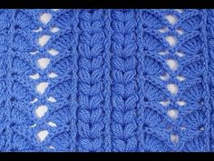 Happy Friday to all! A really interesting point and all terrain, that's what I bring you today for the channel hooks. Crochet Stitches Patterns, Crochet Designs, Stitch Patterns, Crochet Girls, Crochet Baby, Crochet Video, Crochet Coat, Dog Jewelry, Happy Friday