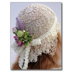 tatting_lace_flapper_wedding_hat_postcard-rbe089c757ac6414aa29aa55375d3377b_vgbaq_8byvr_324.jpg (324×324)