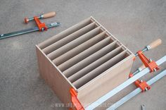 Life with Fingerprints: DIY Construction Paper Organizer