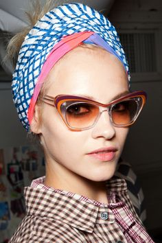 Ginta Lapina at Marc by Marc Jacobs SS 13