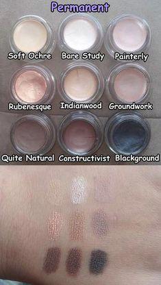 trendy makeup looks mac paint pots Mac Makeup Looks, Best Mac Makeup, Blue Makeup, Skin Makeup, Best Makeup Products, Beauty Makeup, Mac Products, Beauty Skin, Beauty Products