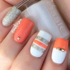 Very pretty without the sparkles. Awesome nails!!!!