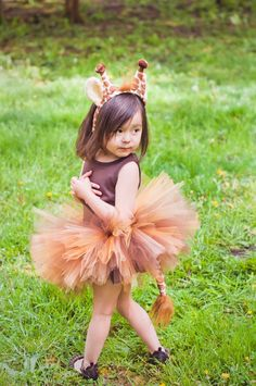 Giraffe Costume by CowboysAndCrowns on Etsy, $35.00: