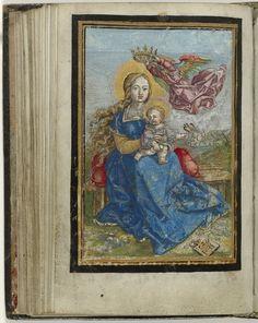 Maria met Kind door een engel gekroond | Albrecht Dürer | 1520 - 1569 | Rijksmuseum | Public Domain Marked