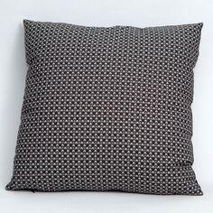 Handmade Gingham Invaded White Cushion / Pillow Cover 43 x 43cm
