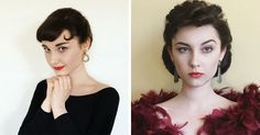 This 17-Year-Old Girl Can Easily Recreate Any Vintage Look | Bored Panda