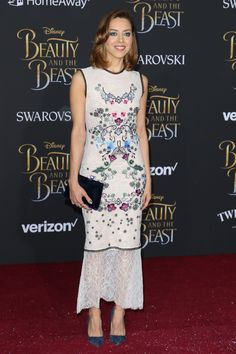 AUBREY PLAZA at Beauty and the Beast Premiere in Los Angeles 03/02/2017