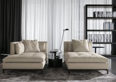 Chaise longues | Relaxing | Andersen Chaise Longue | Minotti. Check it out on Architonic