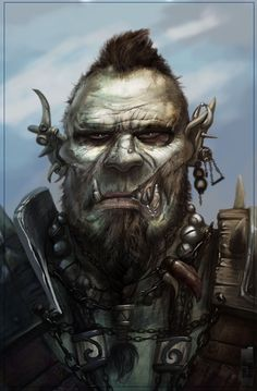Orc by saad irfan | Creatures | 2D | CGSociety