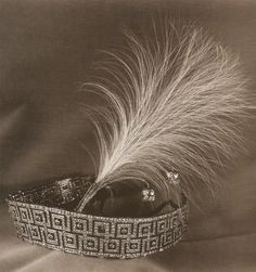 A diamond art deco tiara that has caused something of a mystery. It's believed to have been originally given to Queen Elizabeth, Consort of George VI in as a bandeau. Designed as a double meander tiara, with large Greek Key motifs. Royal Crowns, Royal Tiaras, Tiaras And Crowns, Queens Jewels, Circlet, Royal Jewelry, Hair Ornaments, Crown Jewels, Art Deco Jewelry