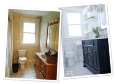Bathroom makeover by Diy Showoff