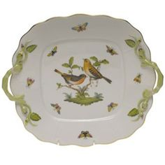 Herend Rothschild Bird - my china pattern