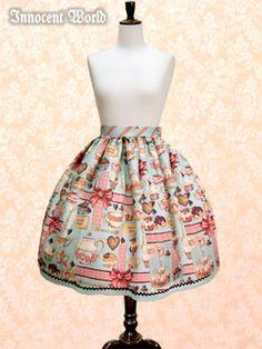 Innocent World baked sweets skirt