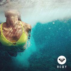 La vida luce mejor bajo el agua #ROXYrules