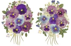 how to make pressed flower art - Google Search