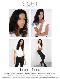 Model Polaroids – Juana Burga