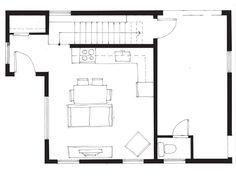 Smallworks Custom Small Homes & Laneway Houses in Vancouver | Design and Floor Plan for Modern - 750 Lane House