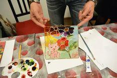 Atelier de pictură pe sticlă (vitraliu) – LA SEDIU – Art & Hobby Studio București Art Courses, Playing Cards, Online Art, Creative, Artist, Studio, Atelier, Playing Card Games, Artists