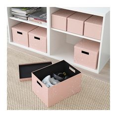 TJENA Storage box with lid IKEA The size is perfect for everything from papers and collectables to shoes and clothes. Bedroom Storage Boxes, Storage Boxes With Lids, Decorative Storage Boxes, Ikea Storage, Wardrobe Storage Boxes, Modern Storage Boxes, Small Storage Boxes, Storage Beds, Diy Rangement