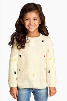 Camisola de malha canelada | H&M