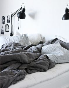 Dreaming of linen bedding | passionsforfashion