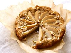 Get this all-star, easy-to-follow Gluten-Free Pear and Almond Cake recipe from Food Network
