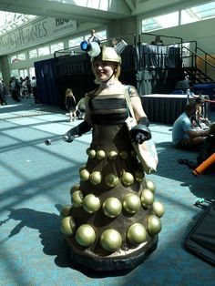 Comic-Con 2013 Cosplay Collection. Dalek dress. Exterminate! #DoctorWho
