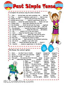 PAST SIMPLE TENSE worksheet - Free ESL printable worksheets made by teachers