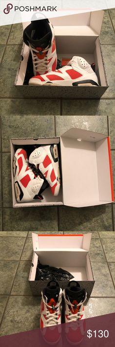 a177de76759c7 Shop Men s Jordan Orange White size Sneakers at a discounted price at  Poshmark. Description  Clean Air Jordan in the original Like Mike ad Orange  Gatorade ...