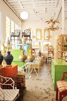 West Palm Beach Antiques Row | The Locals-Only Guide to Palm Beach via @MyDomaine