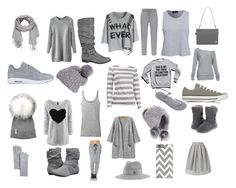 """""""Gray"""" by gizmolover11 on Polyvore featuring maurices, NIKE, Collection XIIX, Vince, Michael Kors, Report, Jocelyn, MAISON MICHEL PARIS, Alloy Apparel and Vince Camuto"""