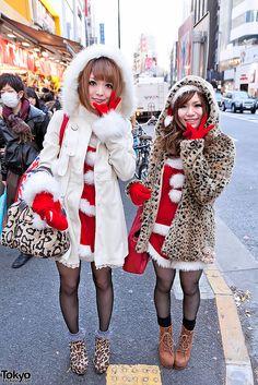 Harajuku street fashion | Santa's Harajuku Helpers