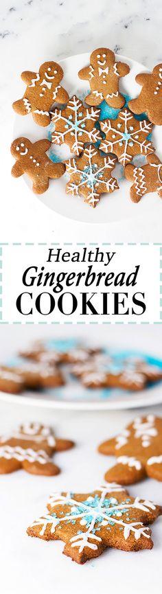 Healthy Gingerbread Cookies!