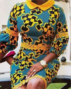 Beautiful Short Ankara Gown Styles for Ladies African Dresses For Kids, African Wear Dresses, Latest African Fashion Dresses, African Print Fashion, African Attire, Ankara Fashion, African Blouses, Ankara Gown Styles, African Traditional Dresses