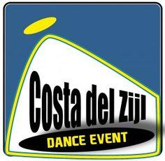 Ontwerp van het beeldmerk van het dance event Costa del Zijl.